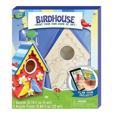 Paint Your Own Birdhouse