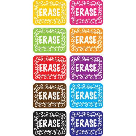 Mini Whiteboard Erasers 10-Pack