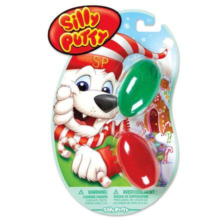 Paquet de 2 pâtes festives Silly Putty