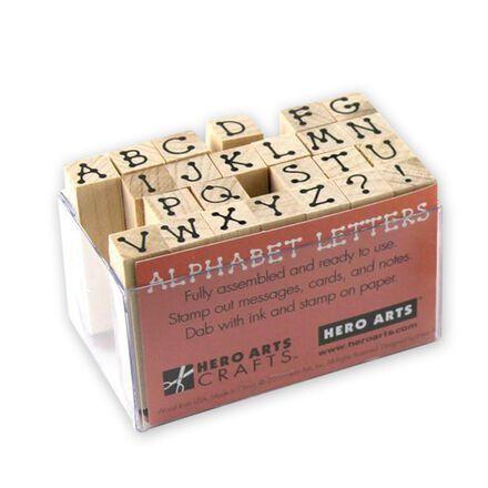 Tiny Dot Letters Mini Stamp Set
