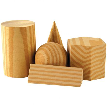Foam Geometric Solids 8-Pack