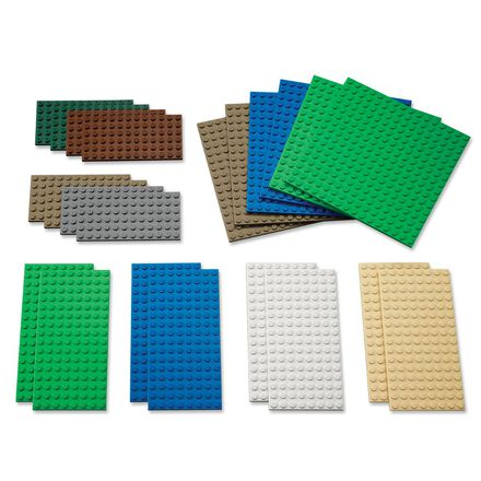 LEGO Education Small Building Plates 22-Pack
