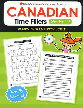 Canadian Time Fillers Gr. 4-6