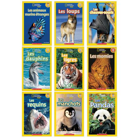 Collection National Geographic Kids - Niveau 3