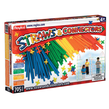 Straws & Connectors Creative Building Sets (705 Pieces)