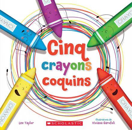 Cinq crayons coquins