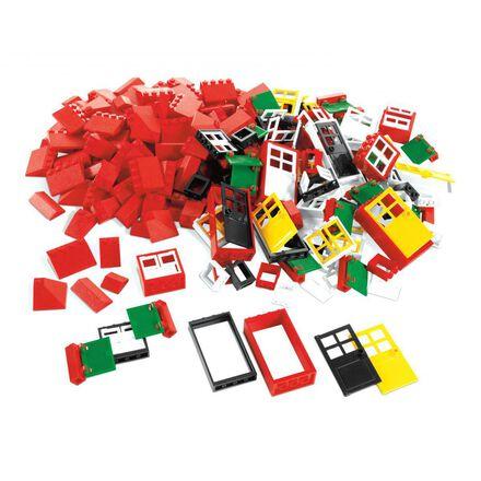 Ensemble de portes, fenêtres et briques de toiture LEGO®