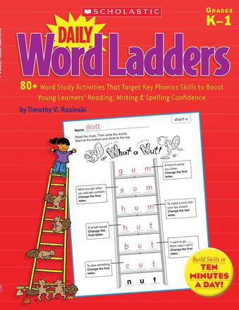 Daily Word Ladders Grades K-1