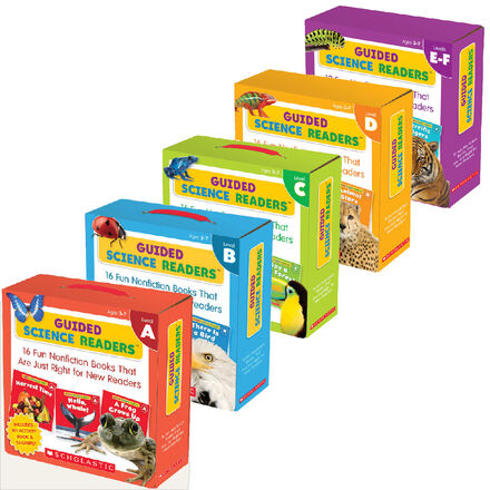 Guided Science Reader A-F Value Pack