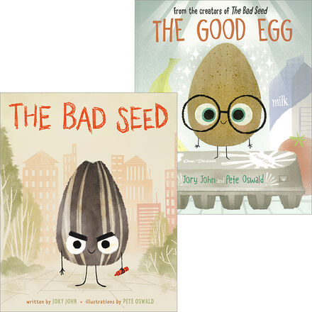 The Good Egg & The Bad Seed Pack
