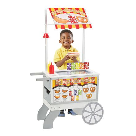 Snacks and Sweets Food Cart