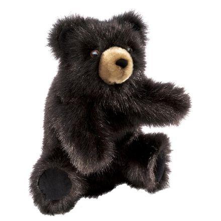Marionnette ours noir
