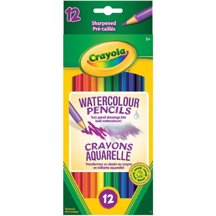 Crayola® Watercolour Pencils 12 Pack