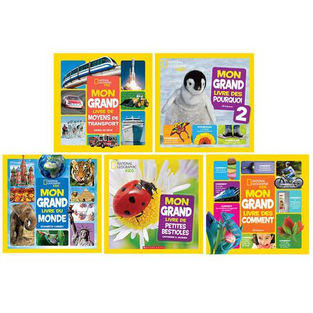 Collection National Geographic Kids Mon grand livre 2