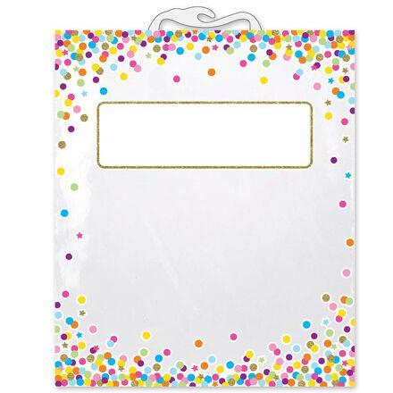Confetti Book Storage Bags 6-Pack