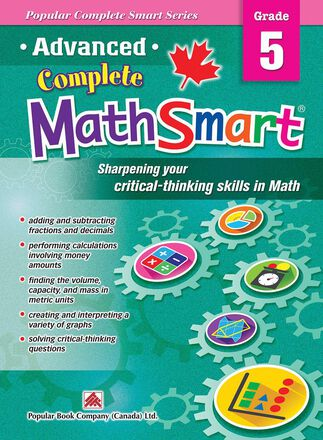 Advanced Complete MathSmart: Grade 5