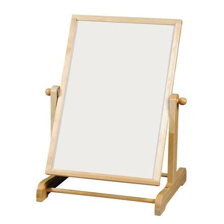 Tableau blanc avec support