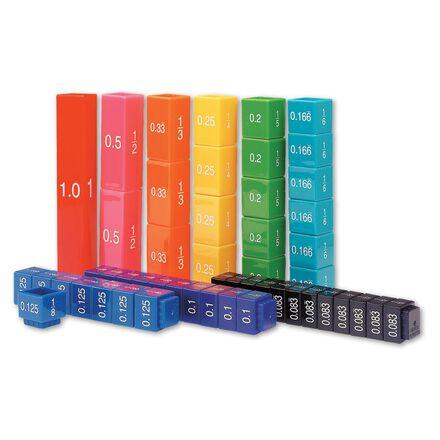 Cubes d'équivalence Fraction Tower