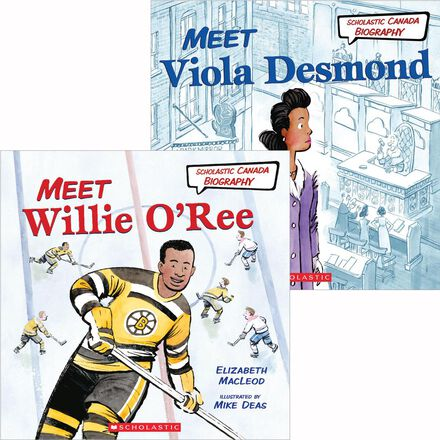 Scholastic Canada Biography Black History Pack