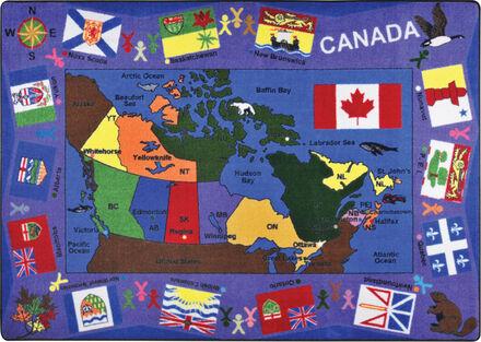 Flags of Canada Carpet