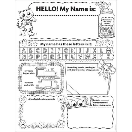Instant Personal Poster Set: My Name