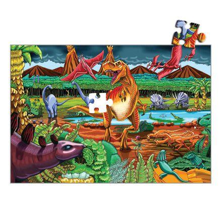 Casse-tête de plancher géant : Scène préhistorique