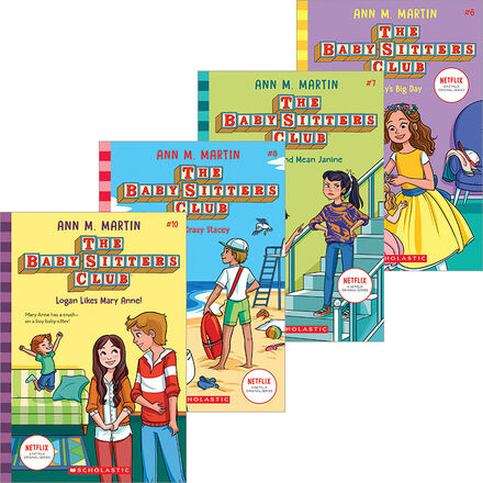 The Baby-Sitters Club #1 - #10 Pack