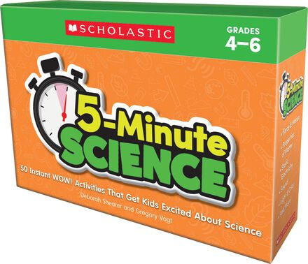 5-Minute Science: Grades 4-6