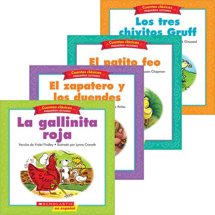 Spanish Folk & Fairy Tale Easy Readers Pack