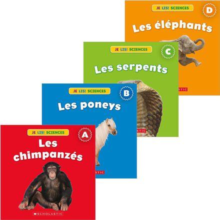 Collection Je lis! Sciences : Animaux - Série 2