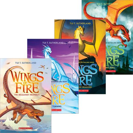 Wings of Fire #1 - #10 Pack