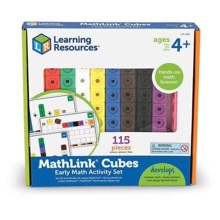 MathLink® Cubes: Early Math Activity Set
