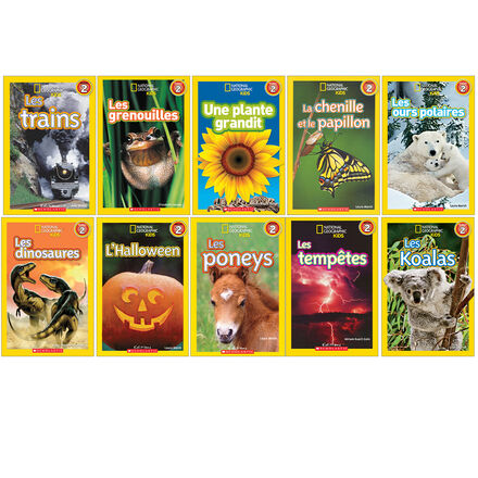 Collection National Geographic Kids Niveau 2