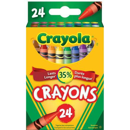 Crayons de cire crayola® (24)