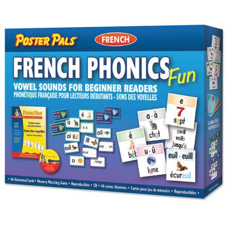 French Phonics Fun Vowel Sounds for Beginner Readers