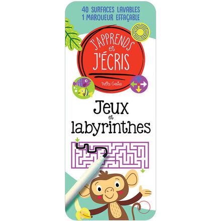 J'apprends et j'écris :  Jeux et labyrinthes