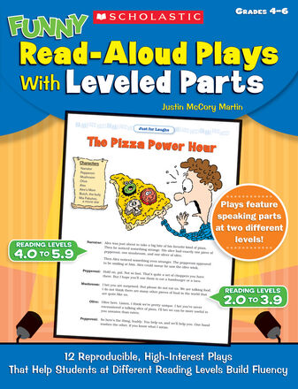 Funny Read-Aloud Plays with Leveled Parts