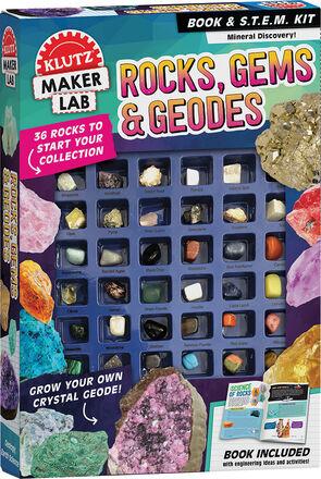 Klutz Maker Lab: Rocks, Gems & Geodes
