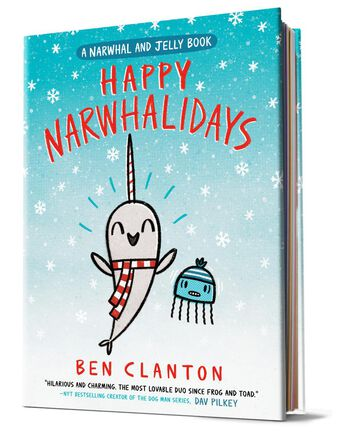 Happy Narwhalidays: A Narwhal and Jelly Book