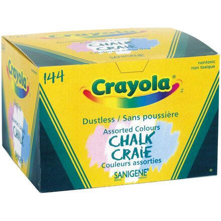 Crayola®  Chalk: Coloured