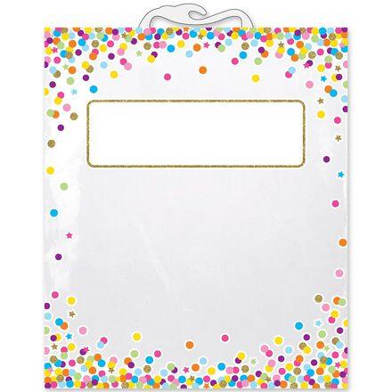 Confetti Book Storage Bags 5-Pack