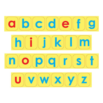 Lowercase Letter Foam Magnets