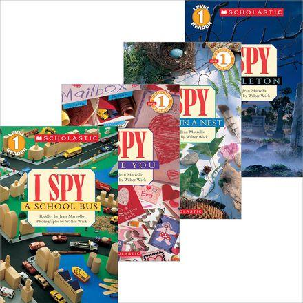 I Spy Pre-Reading Skills Library Value Pack