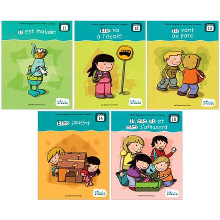 Livrets Bidule : niveau A, livres 11 à 15