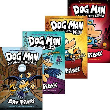 Dog Man #1 - #9 Pack