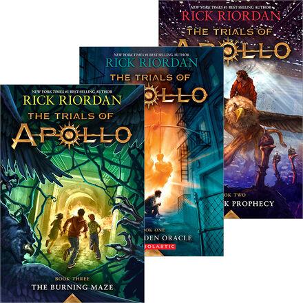 Trials of Apollo #1 - #3 Pack