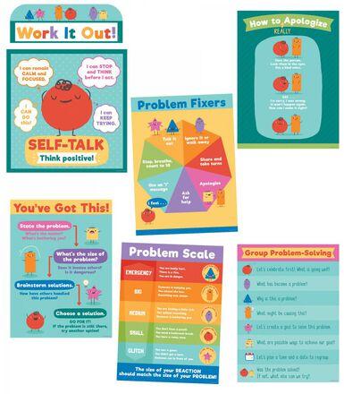 Social Emotional Learning Bulletin Board Set