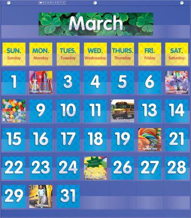 Calendar Date Replacement Cards