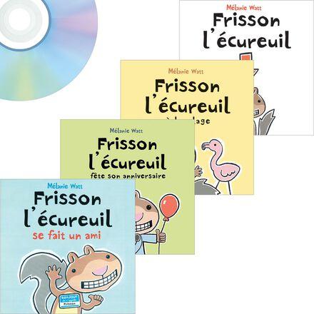 Livres-CD Frisson l'écureuil