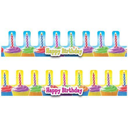 Birthday Cupcakes Crowns